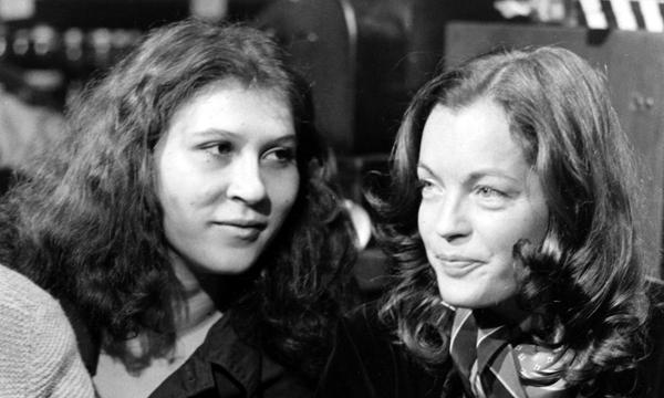 Eva Mattes, Romy Schneider, 1000 Lieder ohne Ton, 1977