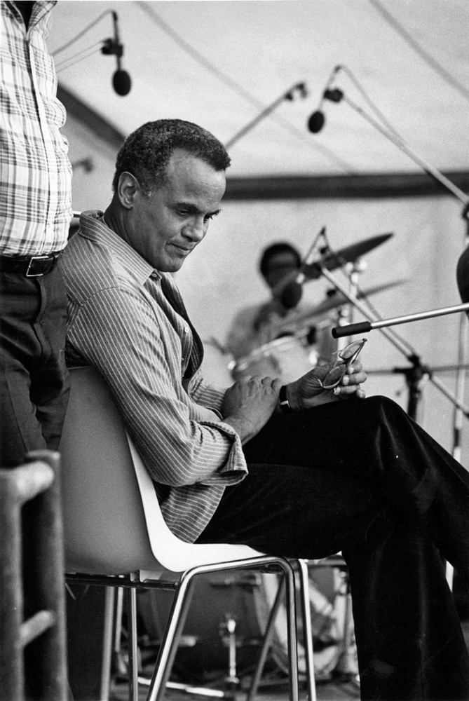 Harry Belafonte mit Band