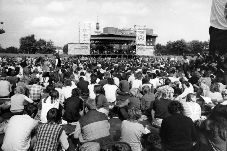 Bochum, 11. September 1982 – Das Publikum im Ruhrstadion