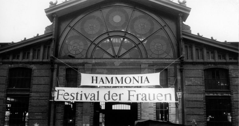 Die Fischauktionshalle am 5. September 1986