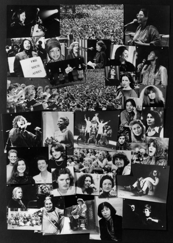 Das Plakat Festival der Frauen 1986