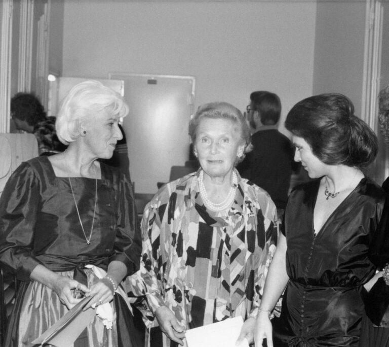 """Joana Maria Gorvin, Elisabeth Schwarzkopf und Eva Mattes beim Liederabend """"Nur wer die Sehnsucht kennt"""""""