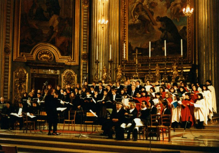Gastspiel in Rom, Chiesa di Sant'Ignazio