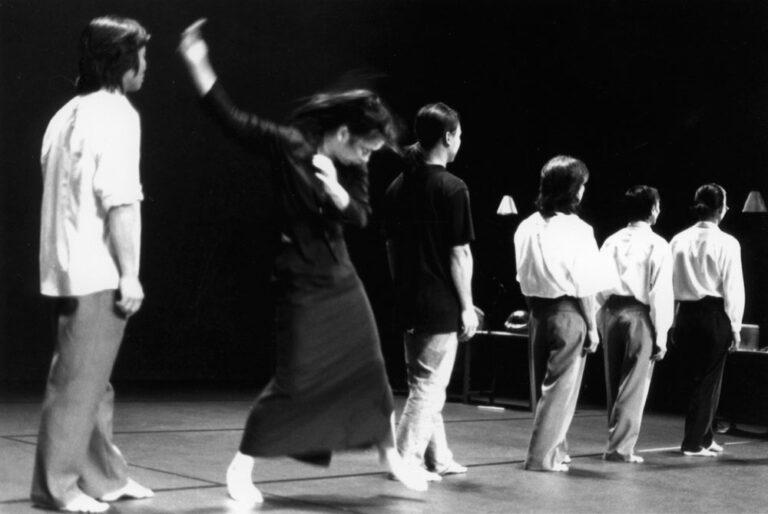 "Ea Sola ""Requiem"" in der Schaubühne, 2001"