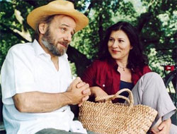 Nikolaus Paryla, Eva Mattes in Der Schächter, 2002