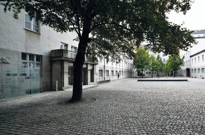 Ehrenhof der Gedenkstätte Deutscher Widerstand (Foto: Gedenkstätte Deutscher Widerstand)